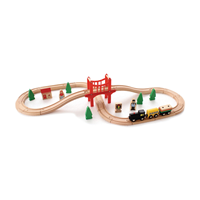 Ahşap Tren Seti-2